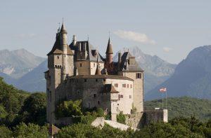 Visite du château de Menton