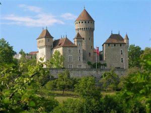 Visite du château de Montretier