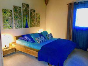 Lit chambre Chamonix